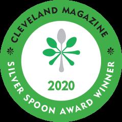 Cleveland Magazine Silver Spoon Award 2020 Best Fine Dining Restaurant
